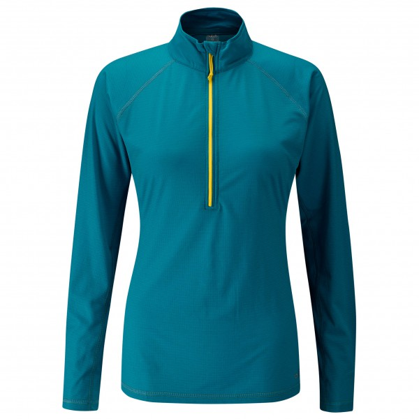 Rab - Women's Interval L/S Zip Tee - Sport shirt