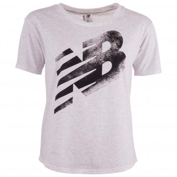 New Balance - Women's Heather Tech Graphic Tee - Camiseta de manga corta