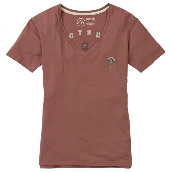 Burton - Women's Keeler V-Neck S/S - T-skjorte
