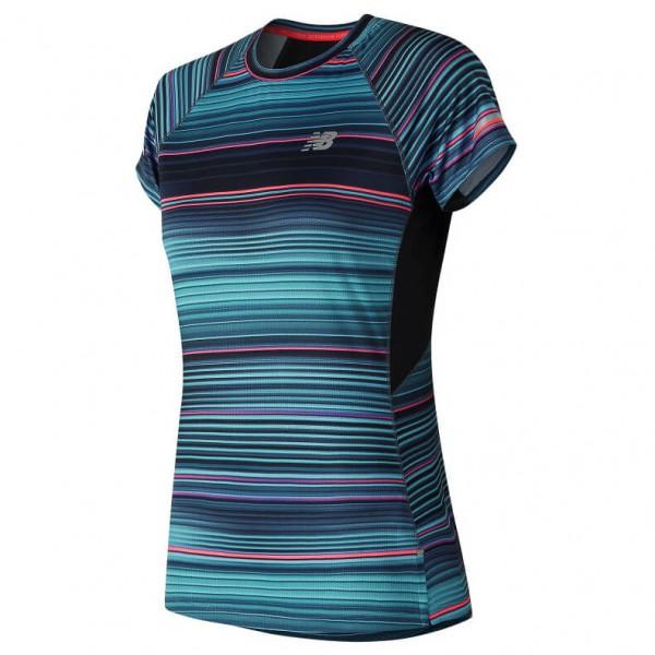New Balance - Women's Ice S/S Print - Funksjonsshirt
