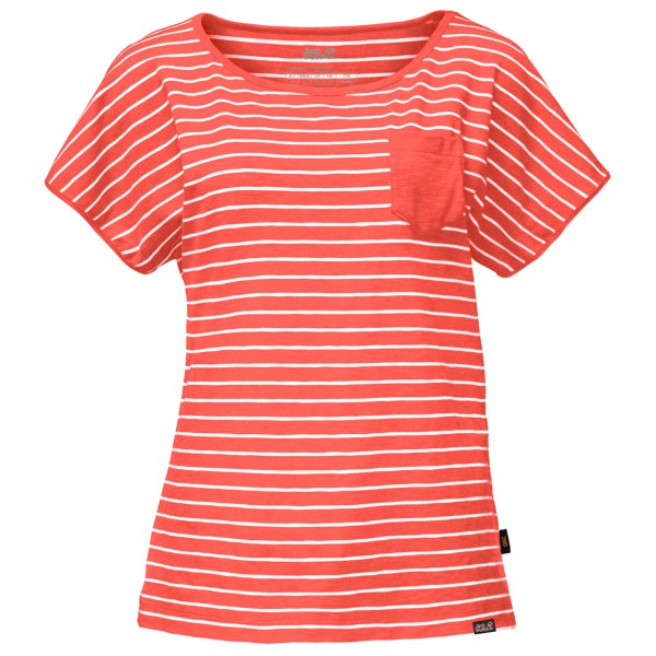 Jack Wolfskin - Women's Travel Striped T - T-shirt
