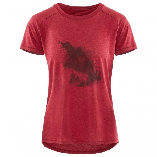 Klättermusen - Women's Eir Forest S/S Tee - Camiseta de manga corta