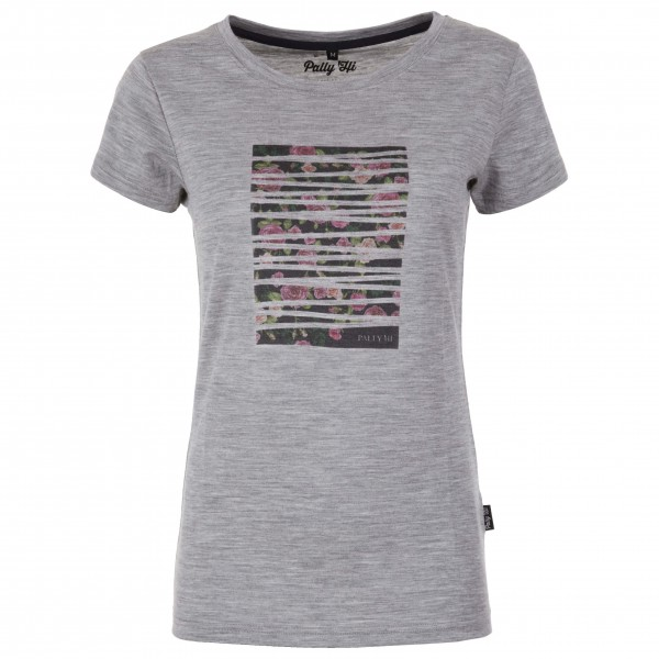Pally'Hi - Women's T-Shirt Rose Bonding - Camiseta de manga corta