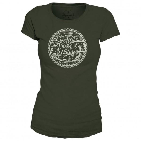 Alprausch - Women's Natur Pur T-Shirt - T-skjorte