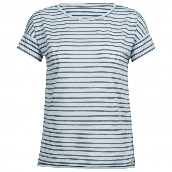 Icebreaker - Women's Aria S/S Scoop Pulled Lines - T-skjorte