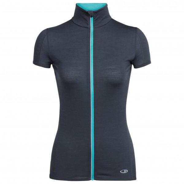 Icebreaker - Women's Comet Lite S/S Zip - Running shirt