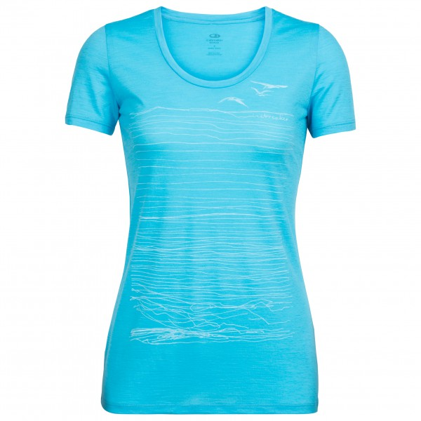 Icebreaker - Women's Spector S/S Scoop Coast - T-shirt