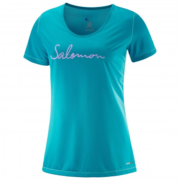 Salomon - Women's Mazy Graphic S/s Tee - Sportshirt
