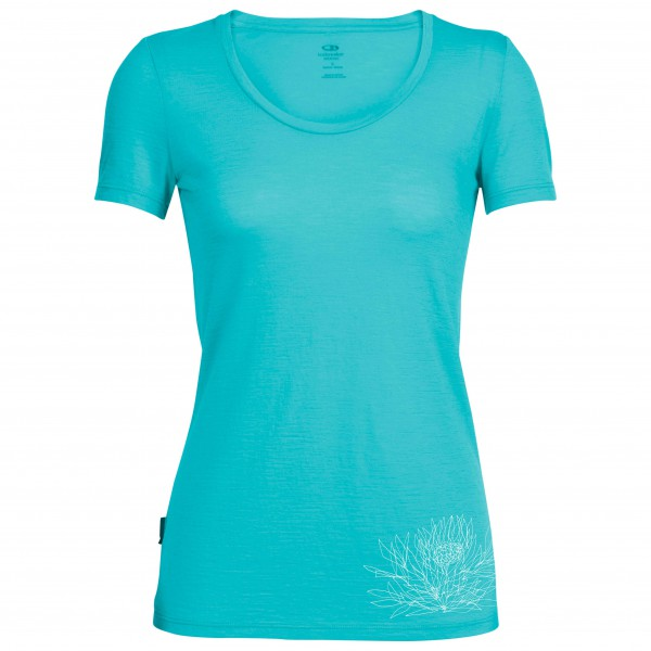 Icebreaker - Women's Tech Lite S/S Scoop Ice Plant - T-shirt