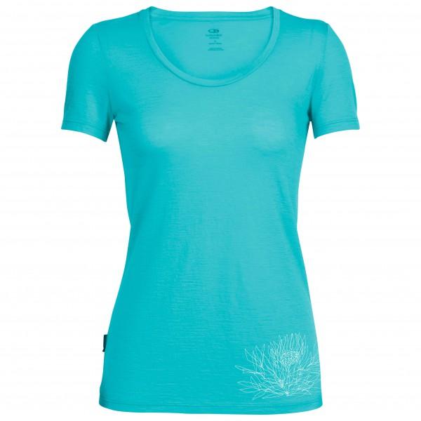 Icebreaker - Women's Tech Lite S/S Scoop Ice Plant - T-skjorte