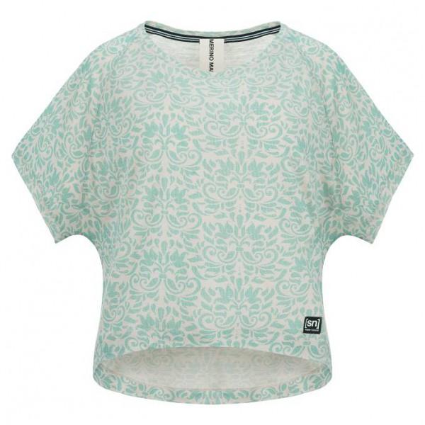SuperNatural - Women's Motion Peyto Tee Printed - T-paidat