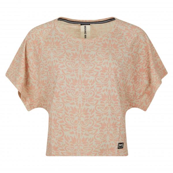 super.natural - Women's Motion Peyto Tee Printed - Camiseta de manga corta