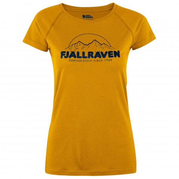Fjällräven - Women's Abisko Trail T-Shirt Print - Funktionströja