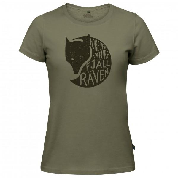 Fjällräven - Women's Forever Nature Fox T-Shirt - T-paidat