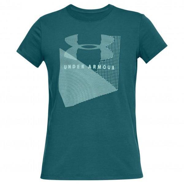 Under Armour - Women's Sportstyle Mesh Logo Crew - Funktionsshirt