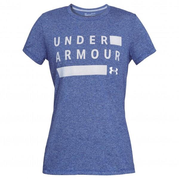 Under Armour - Women's Tborne Train Graphic Twist SSC - Sport shirt