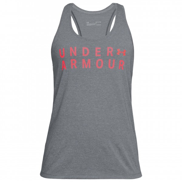 Under Armour - Women's Tborne Train Graphic Twist Tank - Camiseta sin mangas