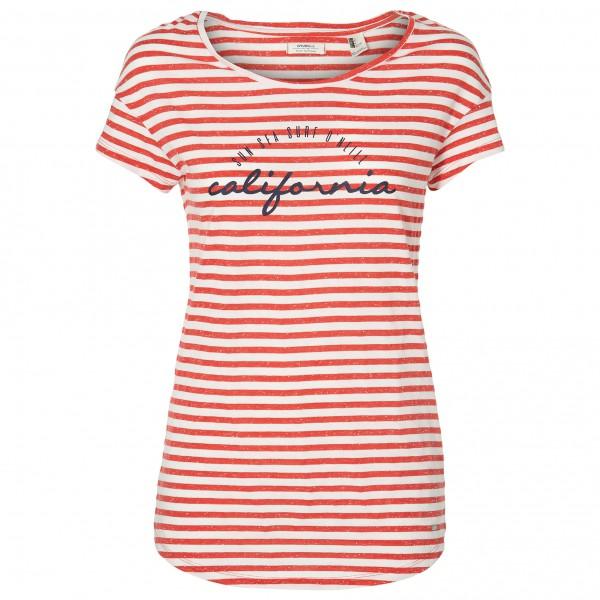 O'Neill - Women's Stripe Script T-Shirt - T-shirt