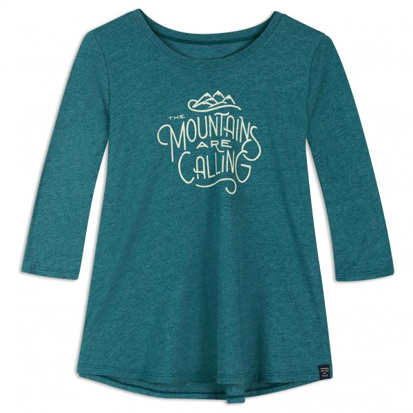United By Blue - Womens 3/4 Sleeve And I Must Go Swing Tee - Longsleeve