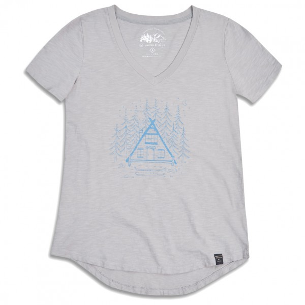 United By Blue - Womens Cabin And Canoe - T-shirt