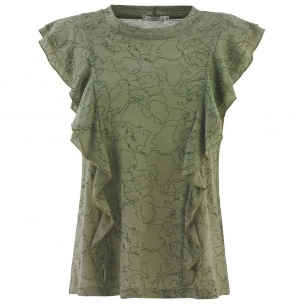 We Norwegians - No Borders Ruffle Blouse Women - T-shirt