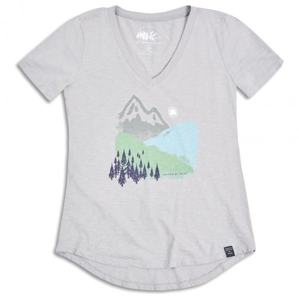 United By Blue - Womens Mountain Ink - T-skjorte