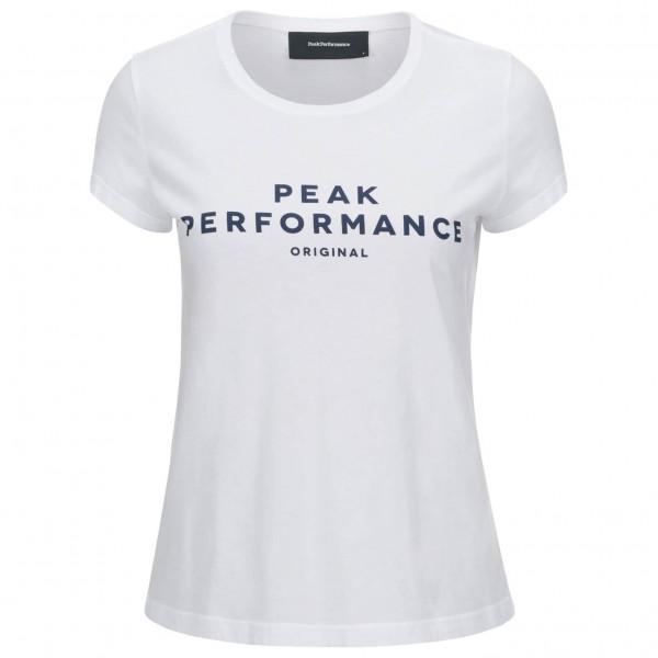 Peak Performance - Women's Logo S/S - T-Shirt