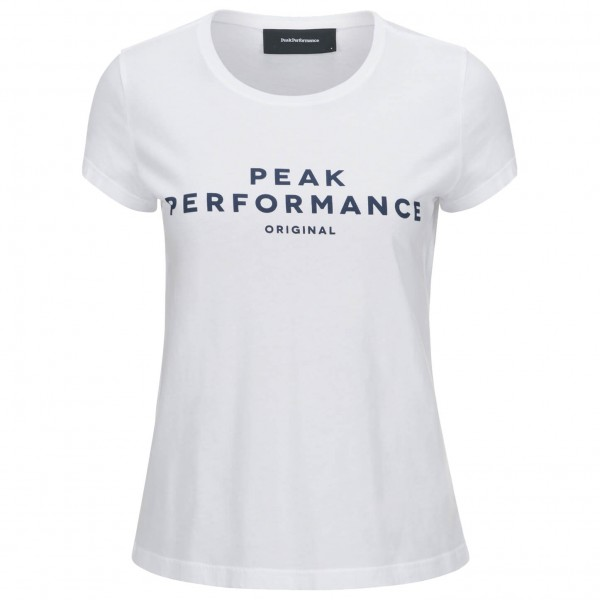 Peak Performance - Women's Logo S/S - T-skjorte
