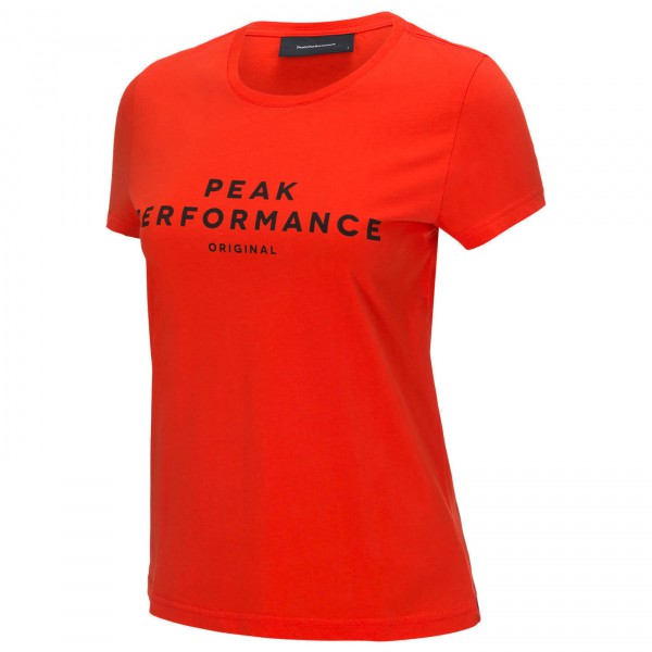 Peak Performance - Women's Logo S/S II - T-shirt