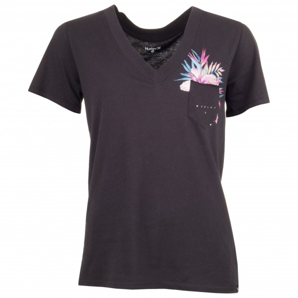 Hurley - Women's Overgrown Perfect V Neck - T-paidat