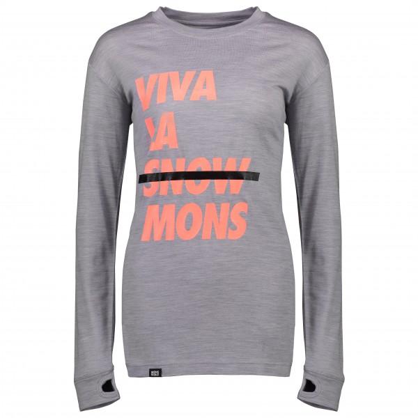 Mons Royale - Women's Yotei BF Tech L/S - Longsleeve