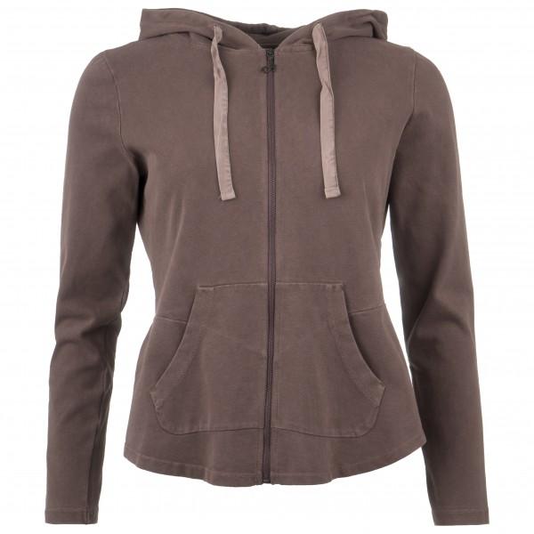 Deha - Women's Felpa Zip E Cappucci I - Yogashirt