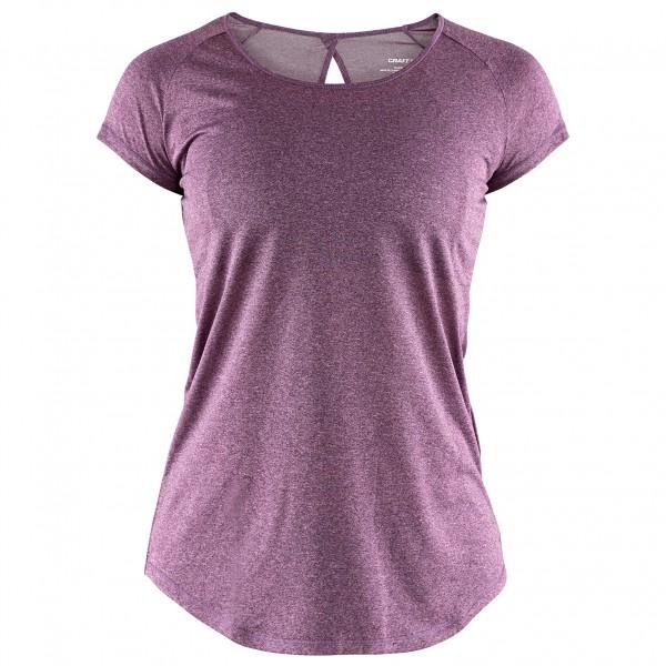 Craft - Women's Eaze S/S Melange Tee - Running shirt