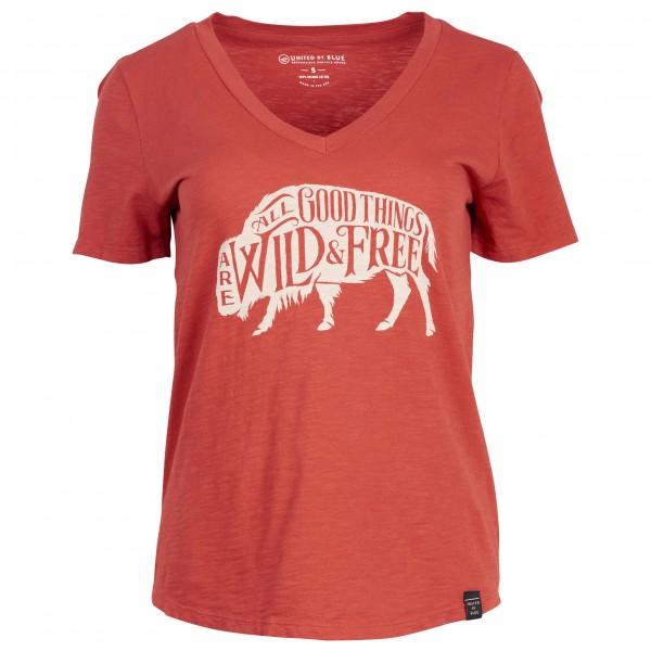 United By Blue - Women's Wild & Free - T-skjorte