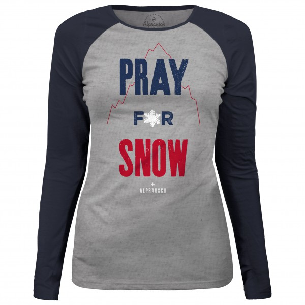 Alprausch - Women's Pray For Snow Longsleeve - Longsleeve