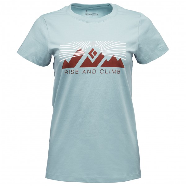 Black Diamond - Women's S/S Rise And Climb Tee - T-shirt