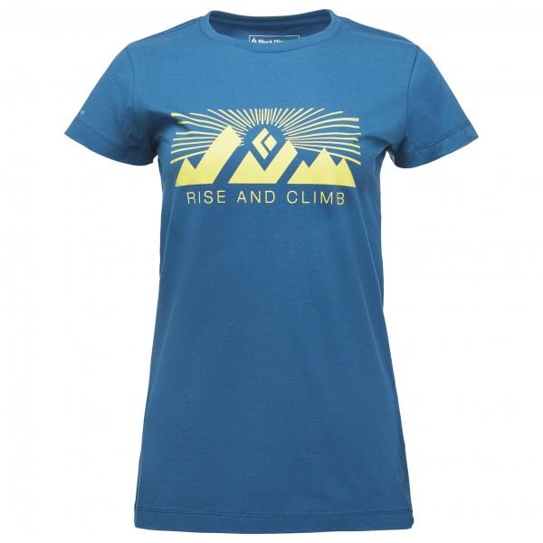 Black Diamond - Women's S/S Rise And Climb Tee - T-Shirt