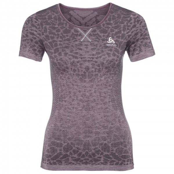 Odlo - Women's BL Top Crew Neck S/S Blackcomb Light
