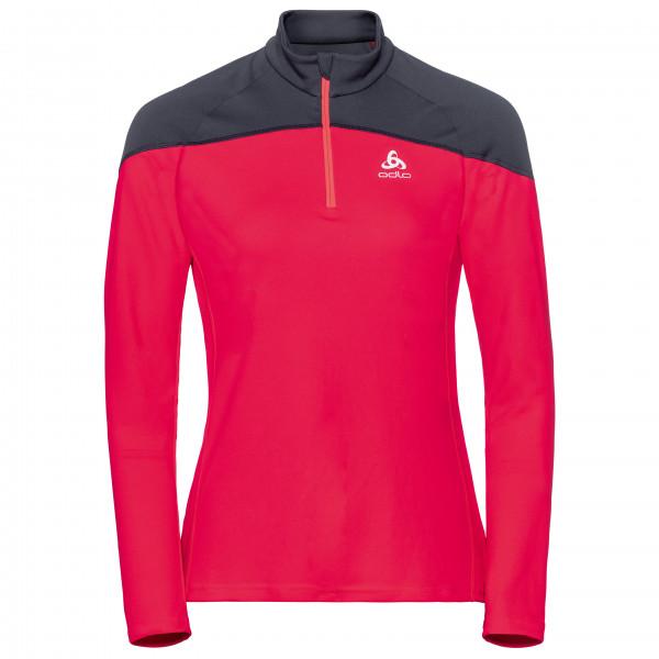 Odlo - Women's Midlayer 1/2 Zip Core Light - Laufshirt
