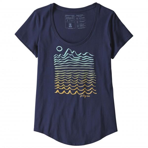 Patagonia - Women's Wavy Maybe Organic Scoop T-Shirt - T-shirt