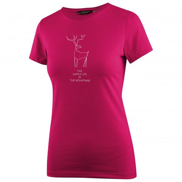 Salewa - Women's Deer Dri-Rel S/S Tee - Tekninen paita