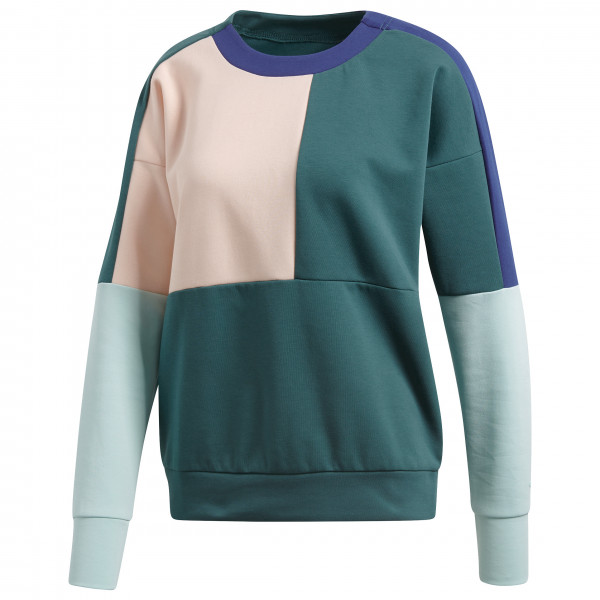 adidas - Women's ID Glory Colourblock Crew - Funktionströja