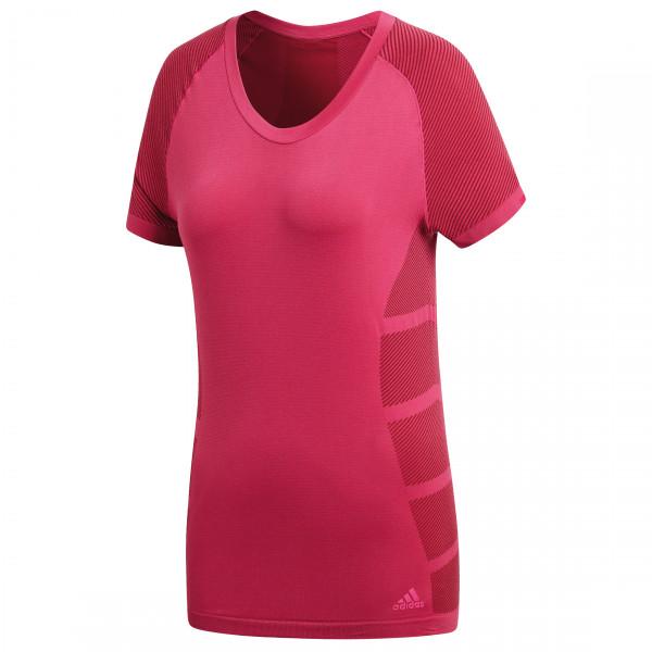 adidas - Women's Ultra Primeknit Polyester Light Tee - Løpetrøye