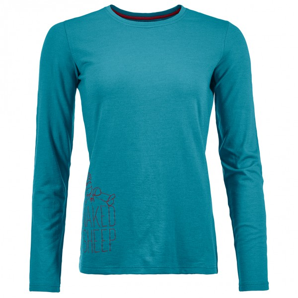 Ortovox - Women's 145 Naked Sheep Long Sleeve - Haut à manches longues