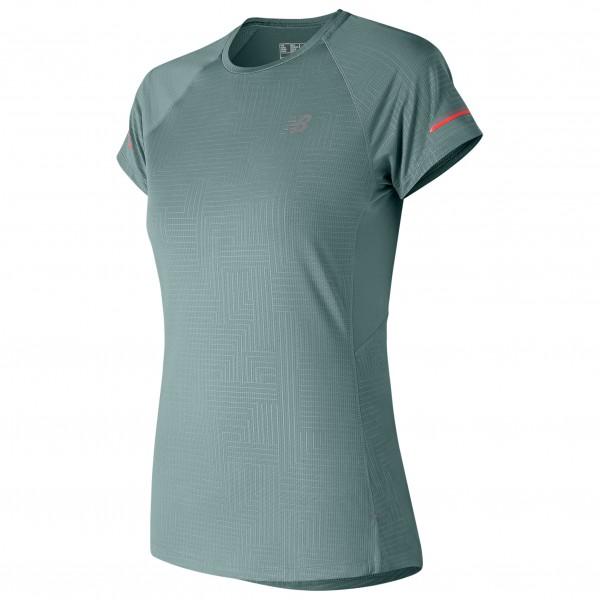 New Balance - Women's Printed NB Ice 2 S/S - Laufshirt