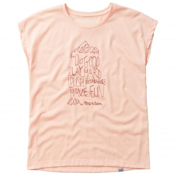 Houdini - Women's Big Up Message Tee - T-shirt