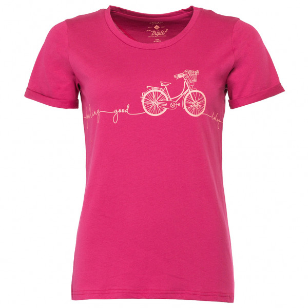 Triple2 Laag Bike T-Shirt Men Herrer, beet red | Trøjer