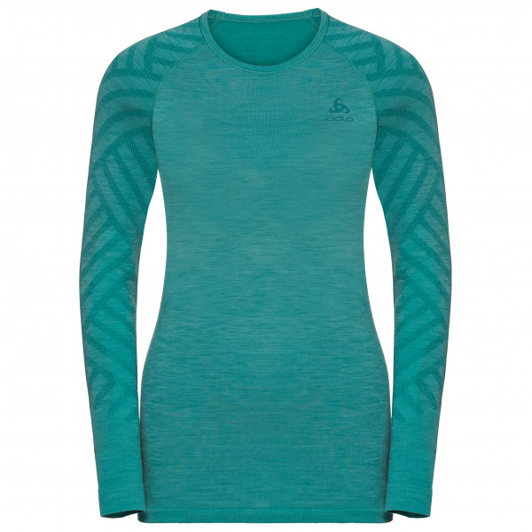 Odlo - Women's BL Top Crew Neck L/S Kinship Seamless - Funktionströja