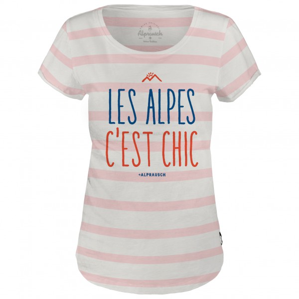 Alprausch - Women's Chic-Les-Alpes T-Shirt