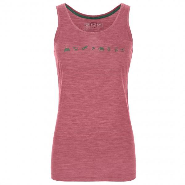Ortovox - Women's 120 Cool Tec Icons Top - Camiseta sin mangas